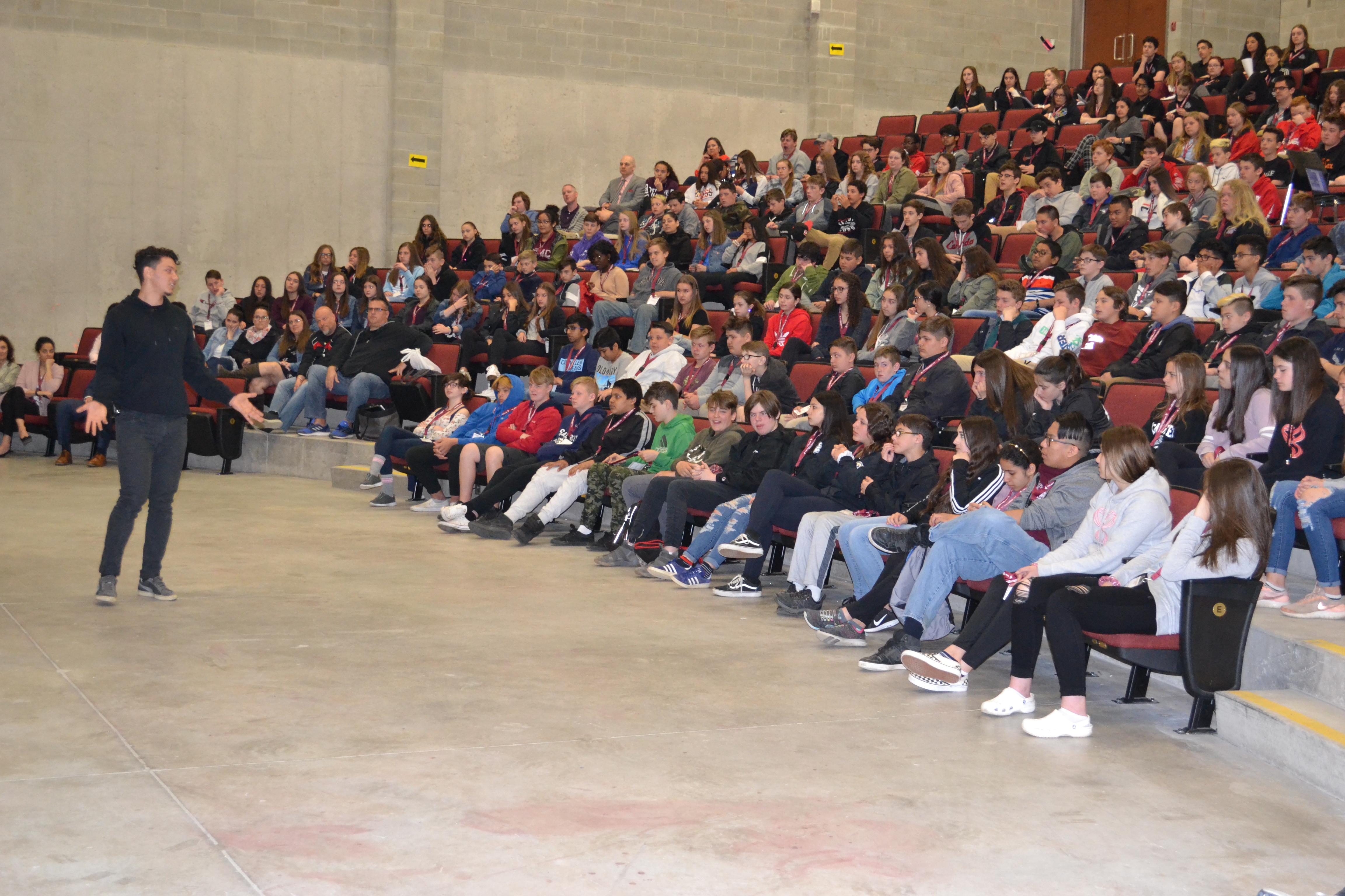 Youth motivational speaker | Sam Demma