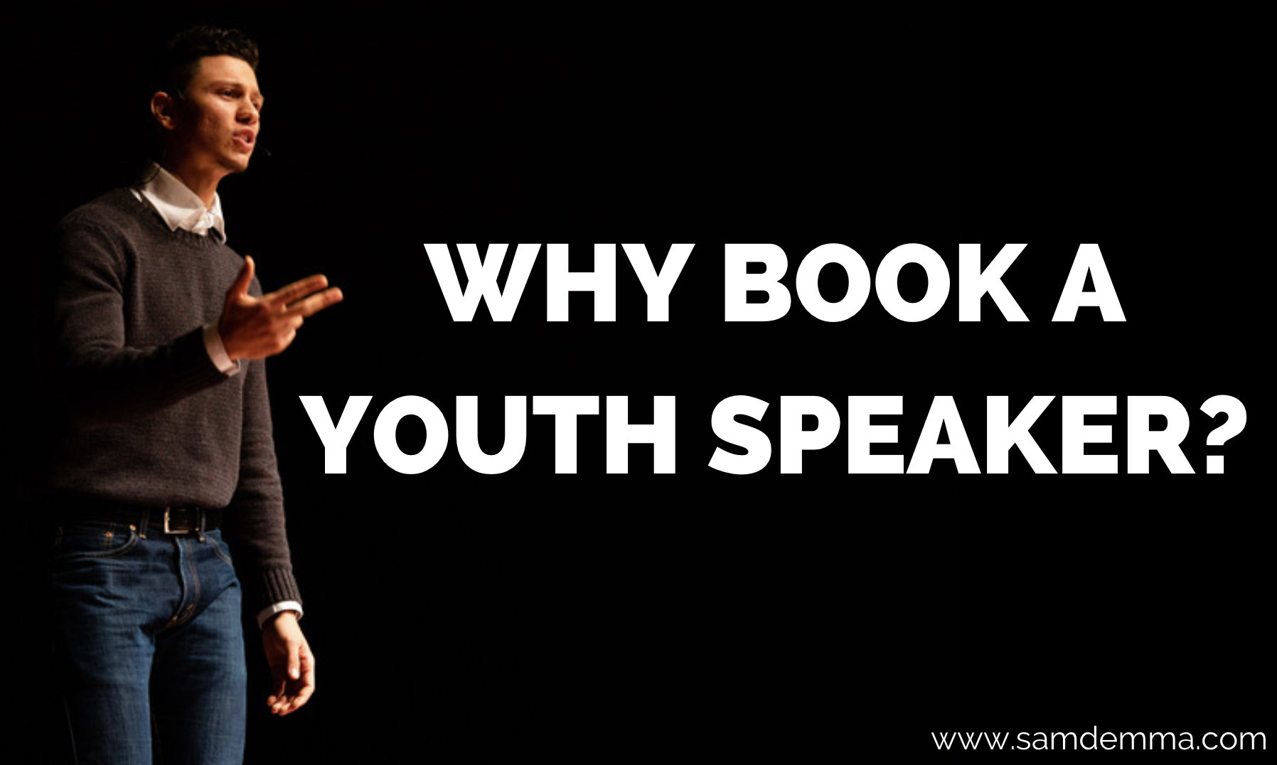 Why book a youth speaker